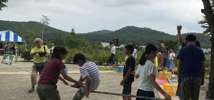 福島県羽鳥湖高原レジーナの森さんで三日間体験会開催しました。